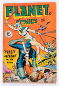 Golden Age (1938-1955):Science Fiction, Planet Comics #54 (Fiction House, 1948) Condition: VG+....