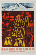 "Movie Posters:Adventure, High Hell (Paramount, 1958). One Sheet (27"" X 41""). Adventure.. ..."