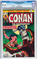 Bronze Age (1970-1979):Miscellaneous, Conan the Barbarian #38 (Marvel, 1974) CGC NM+ 9.6 White pages....