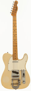 Musical Instruments:Electric Guitars, 1967 Fender Telecaster Blonde Solid Body Electric Guitar, Serial #207583....