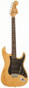 Musical Instruments:Electric Guitars, 1979 Fender Stratocaster Natural Solid Body Electric Guitar, Serial # S900980....
