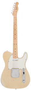 Musical Instruments:Electric Guitars, 1966 Fender Telecaster Blonde Solid Body Electric Guitar, Serial #155263....