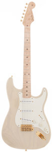 Musical Instruments:Electric Guitars, 1997 Fender Stratocaster Trans White Solid Body Electric Guitar,Serial # CN908397....