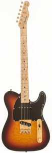 Musical Instruments:Electric Guitars, 1998 Fender Custom Shop Jerry Donahue Telecaster Sunburst Solid Body Electric Guitar, Serial # JD0390....