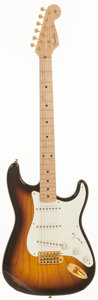 Musical Instruments:Electric Guitars, 1997 Fender Custom Shop 1954 Stratocaster Sunburst Solid BodyElectric Guitar, Serial # CN700511....