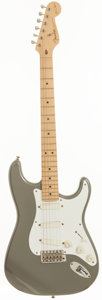 Musical Instruments:Electric Guitars, 1997 Fender Eric Clapton Signature Stratocaster Pewter Solid BodyElectric Guitar, Serial # SN7950765....