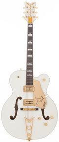 Musical Instruments:Electric Guitars, 1999 Gretsch White Falcon White Semi-Hollow Body Electric Guitar,Serial # 995136-274....