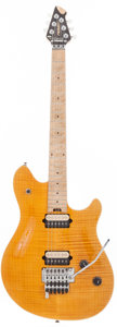 Musical Instruments:Electric Guitars, 2000 Peavey EVH Wolfgang Amber Solid Body Electric Guitar, Serial #91011629....