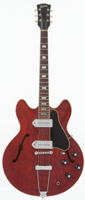 Musical Instruments:Electric Guitars, 1967 Gibson ES-330 Cherry Semi-Hollow Body Electric Guitar, Serial# 062224....