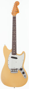 Musical Instruments:Electric Guitars, 1975 Fender Musicmaster Olympic White Solid Body Electric Guitar,Serial # 643888....