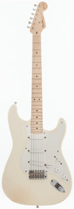 Musical Instruments:Electric Guitars, 1996 Fender Eric Clapton Stratocaster White Solid Body ElectricGuitar, Serial # SN6940003....