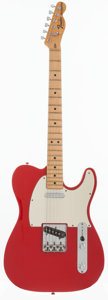 Musical Instruments:Electric Guitars, 1978 Fender Telecaster Red Solid Body Electric Guitar, Serial # S727605....