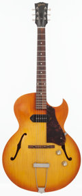 Musical Instruments:Electric Guitars, 1965 Gibson ES-125 TC Sunburst Semi-Hollow Body Electric Guitar, Serial # 308981....