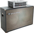 Musical Instruments:Amplifiers, PA, & Effects, 1970's Dynacord Bass King T Grey Guitar Amplifier Head and Cabinet,Serial # 05712800....