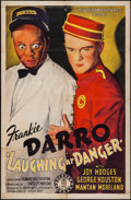 "Movie Posters:Crime, Laughing at Danger (Monogram, 1940). One Sheet (27"" X 41""). Crime....."