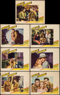 """Movie Posters:Action, Forced Landing (Paramount, 1941). Lobby Cards (7) (11"""" X 14"""").Action.. ... (Total: 7 Items)"""
