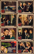 "Movie Posters:Mystery, Miracles for Sale (MGM, 1939). Lobby Card Set of 8 (11"" X 14""). Mystery.. ... (Total: 8 Items)"