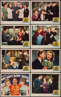 """Movie Posters:Comedy, Andy Hardy's Blonde Trouble (MGM, 1944). Lobby Card Set of 8 (11"""" X14""""). Comedy.. ... (Total: 8 Items)"""