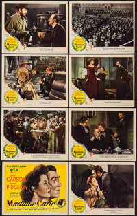 "Madame Curie (MGM, 1943). Lobby Card Set of 8 (11"" X 14""). Drama. ... (Total: 8 Items)"