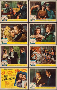 "Mrs. Parkington (MGM, 1944). Lobby Card Set of 8 (11"" X 14""). Drama. ... (Total: 8 Items)"