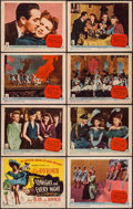 """Movie Posters:Musical, Tonight and Every Night (Columbia, 1945). Lobby Card Set of 8 (11"""" X 14""""). Musical.. ... (Total: 8 Items)"""