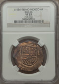 Mexico, Mexico: Philip II Cob 4 Reales ND (1556-98) VF35 NGC,...