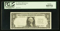 Error Notes:Missing Third Printing, Fr. 1913-G $1 1985 Federal Reserve Note. PCGS Gem New 66PPQ.. ...