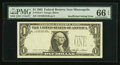 Error Notes:Missing Third Printing, Fr. 1913-I $1 1985 Federal Reserve Note. PMG Gem Uncirculated 66 EPQ.. ...