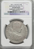 Mexico, Mexico: Zacatecas. Ferdinand VII 8 Reales 1811 VF Details (SurfaceHairlines) NGC,...