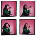 """Movie Posters:Action, Diana Rigg in The Avengers (ABC, 1966). Kodak Color Transparencies (4) (2.5"""" X 2.5""""). Action.. ... (Total: 4 Items)"""