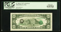 Error Notes:Third Printing on Reverse, Fr. 2024-C $10 1977A Federal Reserve Note. PCGS Choice New 63PPQ.. ...