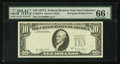 Error Notes:Third Printing on Reverse, Fr. 2024-L $10 1977A Federal Reserve Note. PMG Gem Uncirculated 66 EPQ.. ...