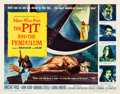 """Movie Posters:Horror, The Pit and the Pendulum (American International, 1961). Half Sheet (22"""" X 28"""").. ..."""