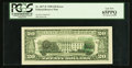 Error Notes:Third Printing on Reverse, Fr. 2077-F $20 1990 Federal Reserve Note. PCGS Gem New 65PPQ.. ...