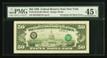 Error Notes:Third Printing on Reverse, Fr. 2123-B $50 1988 Federal Reserve Note. PMG Choice Extremely Fine 45 EPQ.. ...