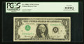 Error Notes:Inverted Third Printings, Fr. 1908-E $1 1974 Federal Reserve Note. PCGS Very Fine 35PPQ.. ...