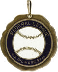 Baseball Collectibles:Others, 1915 Federal League Season Pass. A failed experiment that arose as a direct challenge to the perceived monopoly enjoyed by ...