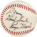 Autographs:Baseballs, 1970's Roger Maris Single Signed Baseball. Though the shadow of anasterisk was finally removed from Maris' single season h...