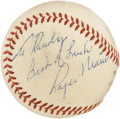 Autographs:Baseballs, 1961 Roger Maris Single Signed Baseball. Providing the most idealvintage imaginable, this ONL (Giles) baseball was autogra...