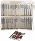 "Movie/TV Memorabilia:Memorabilia, ""Seinfeld"" VHS Tape Set plus Display Case. Included are 58 VHStapes totaling all 180 broadcast episodes (and some clip show...(Total: 1 Item)"