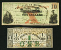 Obsoletes By State:Louisiana, Louisana and Mississippi Civil War Notes.. ... (Total: 2 notes)