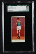 "Boxing Cards:General, 1910 E78 ""Twenty-Five Prize Fighters"" Sailor Burke SGC 20 Fair 1.5. ..."