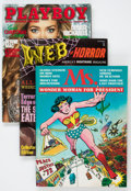 Magazines:Miscellaneous, Assorted Magazines and Comic Magazines Box Lot (Various Publishers,1970s-2000s) Condition: Average VG/FN....