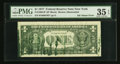 Error Notes:Ink Smears, Fr. 1909-B* $1 1977 Federal Reserve Note. PMG Choice Very Fine 35EPQ.. ...