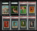 Boxing Cards:General, 1910's T218, T219, T220 and T225 Boxing Collection (16). ...
