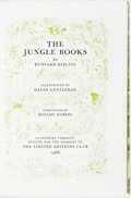 Books:Literature 1900-up, [Limited Editions Club] David Gentleman, illustrator. SIGNED.Rudyard Kipling. The Jungle Books. Limited Editions Cl...