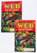 Golden Age (1938-1955):Horror, Web of Mystery #11 (Ace, 1952) Condition: Average VG-.... (Total: 2Comic Books)