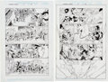 Original Comic Art:Panel Pages, Carlos Pacheco and Jesus Merino Avengers Forever #6 Pages13, 16, and 20 Original Art Group (Marvel, 1999).... (Total: 3Original Art)