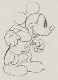 Animation Art:Production Drawing, Mickey's Garden Mickey Mouse Animation Drawing (Walt Disney,1935). ...