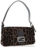 "Luxury Accessories:Accessories, Fendi Animal Print Baguette Bag. Very Good Condition. 10""Width x 6"" Height x 1.5"" Depth. ..."